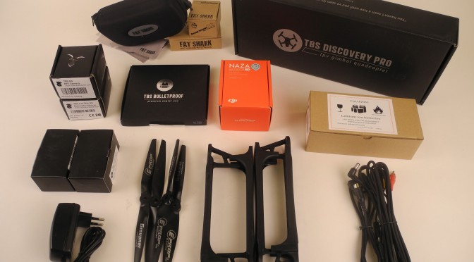 Unboxing the TBS discovery PRO