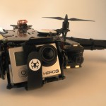 GoPro and flight camera of the TBS Discovery Pro.