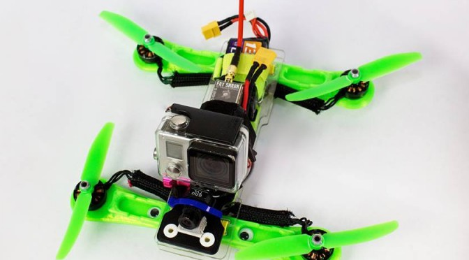 Zippy, the zip tied FPV racer on Kickstarter