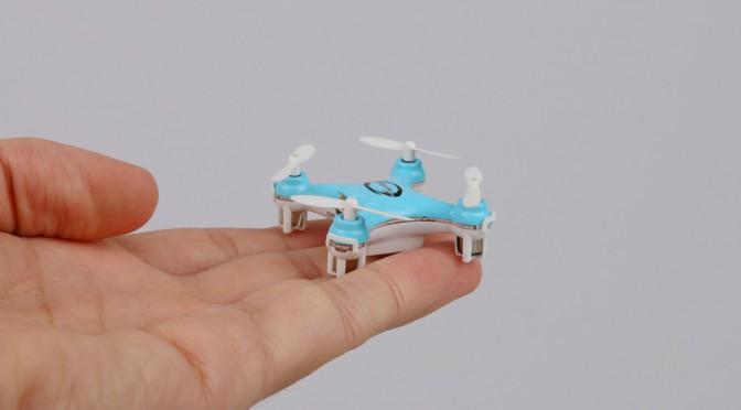 Honey, I shrunk the … quadcopter
